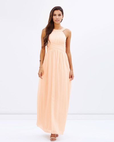 Blush Peal Embellished Gown