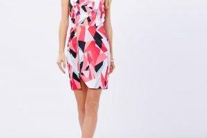 Graphic Content Zip Dress