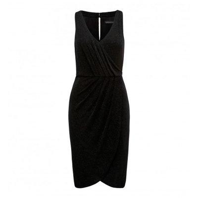 Little Black Sparkle Dress