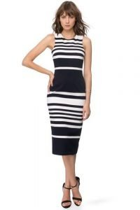Positano Stripe Cross Back