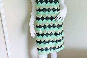Sequins & Squares Dress