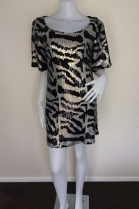 Tiger Sequin Dress