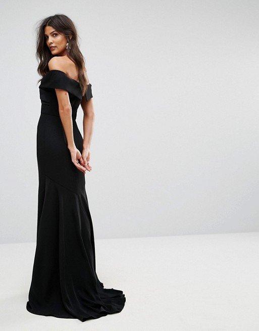 b06c2e02aacf Bardot Overlay Gown